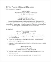 Financial Data Analyst Resume Best Of Sample Data Analyst Resume ...