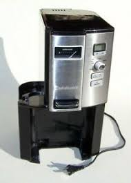 Fill up your cuisinart coffee on demand™ 12 cup programmable coffeemaker once and enjoy fresh brewed cups throughout the day! Cuisinart Coffee Maker On Demand Dcc 3000 Replacement Parts Repair Base Unit Ebay