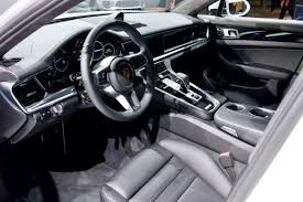 2018 porsche panamera interior. beautiful panamera the executive trim of the 2018 porsche panamera ehybrid features 101inch  screens in rear along with a central controller for media and climate  on porsche panamera interior