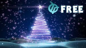 Free Christmas Tree Background Animation Youtube