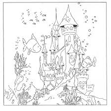 Small Picture Underwater Coloring Pages Pinterest