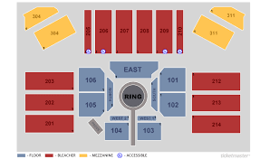Etess Arena Seating Chart View Mark G Etess Arena At Hard Rock Hotel Casino Atlantic
