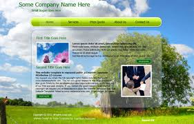 Free Flash Web Template Free Flash Web Templates Web Css Jquery