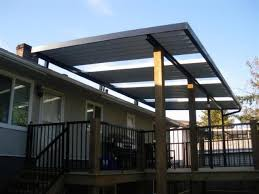 combination solid clear patio cover using glass panels note that existing houseu0027roof is too low so installed above it covers26