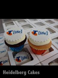 Corporate Cakes 27 Telstra Cupcakes Heidelberg Cakes