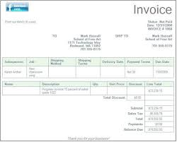 Purchase Invoice For Office