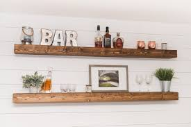 Rustic Kitchen Shelving Rustic Wall Shelf Etsy