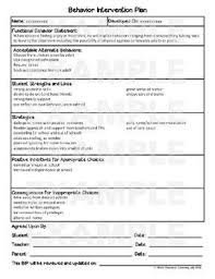 behavior intervention plan template behavior intervention plan template newfangled depiction worksheet