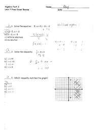 graphing linear equations worksheets answers unit 7 final review page worksheet 418 systems of