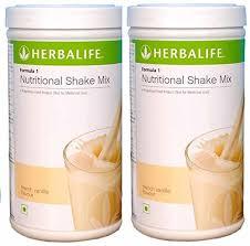 herbal life herbalife formula 1 shake 500g weight loss vanilla pack of 2
