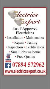 Proffessional Quotes Professional Part P Registered Electricians Free Quotes In