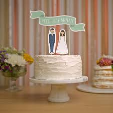 Wedding Cake Topper Custom Names Cake Topper Banner No 2 Etsy