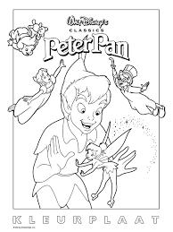 Peter Pan2 A Peter Pan Coloring Page That I Thought You Mi Flickr