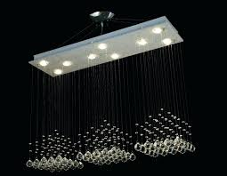 medium size of modern contemporary broadway linear crystal chandelier lighting lamp gallery light w special delightful