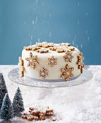 How To Make A Spiced Snowflake Christmas Cake Delicious Magazine