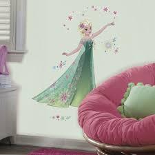 elsa giant wall mural decals frozen fever stickers new 46 disney princess decor