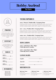 Basic Infographic Resume Template Simple Infographic Maker Tool By