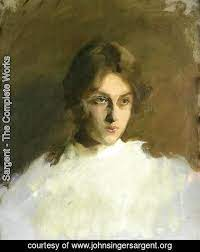 Edith French by Sargent   Oil Painting   johnsingersargent.org