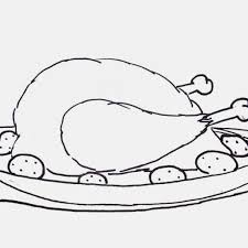 Image Thanksgiving Chicken Coloring Pages 3 Free Printable Sheets