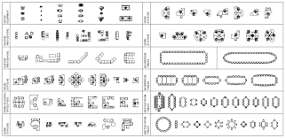 Floor Plan Office Furniture Symbols Blocks Chair Block Chairsoffice Furniturefloor Designfloor Planssymbolsfurniture With Inspiration