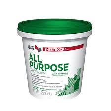 sheetrock brand all purpose 1 75 pt pre mixed joint compound 380270 the home depot