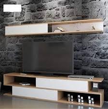 Home <b>White Elegant Wooden</b> Storage Cabinet Living Room <b>TV</b> ...