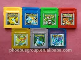 Retro Games For Nintendo Pokemon Game Boy Color Gbc Buy Games