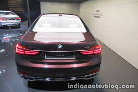 BMW Convertible bmw individual badge : BMW Individual M760Li inspired by Nautor's Swan rear - Indian ...