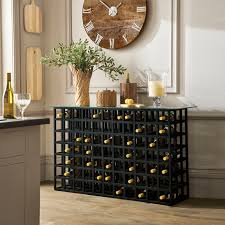 Cricova Wine Rack Console Table OKA