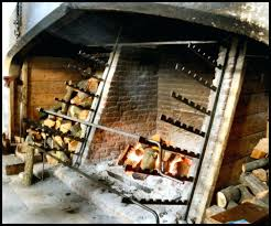 cooking in fireplace cooking fireplaces and bake ovens