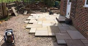 how to lay a patio step by step guide