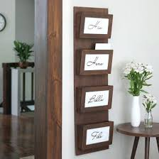wall mail organizer wall organizer for mail clear your clutter with this simple mail sorting station wall mail organizer