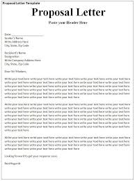 Sample Letter Of Proposal For Service Craft The Perfect Event Proposal Template Now Guidebook