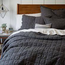 Modern Quilts & Coverlets   west elm & Belgian Flax Linen Quilt + Shams Adamdwight.com