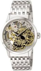 17 best images about invicta watches to get mechanical skull dial 2 hand all ss invicta watches pocket watch corum watches black and gold watch mens ad