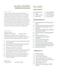 Resume Template Administrative Assistant Best of Canadian Resume Templates Resume Template Administrative Assistant