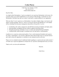 Fashion Merchandising Cover Letter Sarahepps Com