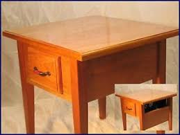 Concealed Gun Furniture End Table 2 hidden secret partment Box