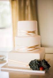 simple round wedding cake. Interesting Cake A Threetiered Square And Round Wedding Cake With Geometric Gold Stripes  From Cakes By Gina For Simple Round Wedding Cake D