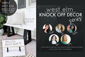 diy furniture west elm knock. Diy Furniture West Elm Knock S