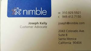 Card Scanner Nimble Crm Business Card Scanner For Android