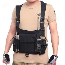 <b>Outdoor Tactical Nylon</b> Vest Bag Army Military Chest Rig Pack ...