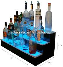 Bar Bottle Display Stand ILLUMINATED BAR STAND WITH 100 LIT SHELVES ProductsChina Nobailout 11