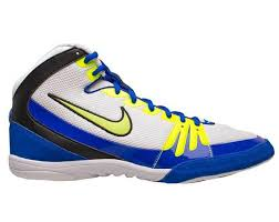 nike youth wrestling shoes. nike freek wrestling shoes - white/yellow/royal | takedown sportswear nike youth wrestling shoes