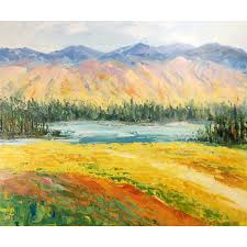 modern paintings nature painting abstract painting on canvas abstract landscape painting hand