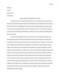 example of acknowledgement in thesis essay assignments example the many lines of evidence for global warming