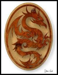 scrollsaw workshop. scrollsaw workshop: dragon plaque scroll saw pattern. workshop