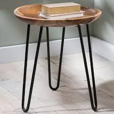 nightstands likeable teak wood and metal side table vivaterra of reclaimed nightstand pottery barn ultimate