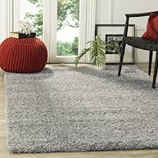 carpet 8x10. safavieh california shag collection sg151-7575 silver area rug (8\u0027 x 10\u0027 carpet 8x10
