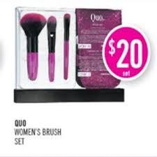 essence cosmetics pers mart quo cosmetics makeup brush set 20 00 redflagdeals